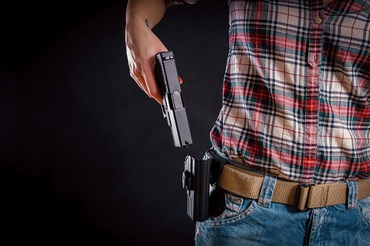 How Can You Conceal Carry a Firearm without a Holster in Leander TX,