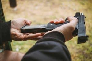 Handgun Loading Gun